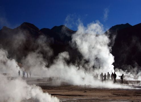 EXCURSION A LOS GEYSER DEL TATIO Y VILLA MACHUCA