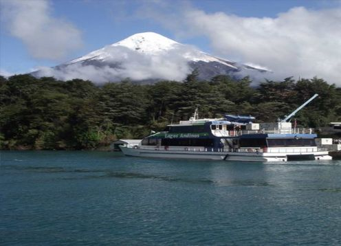 TRANSFER IN + NAVEGACION PEULLA + TOUR A CHILOE + TRANSFER OUT