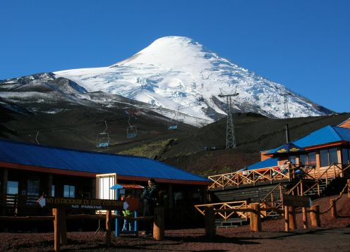 EXCURSION AL VOLCAN OSORNO. Puerto Montt, CHILE