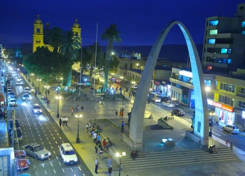 CITY TOUR TACNA, PERU. , PERU